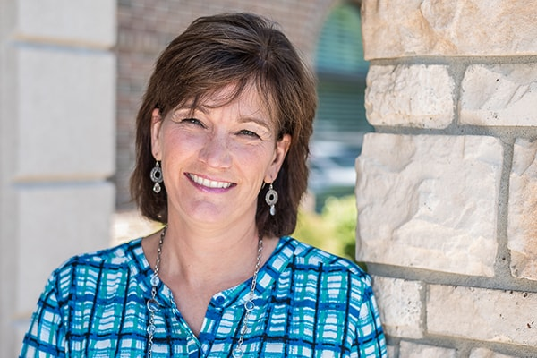 Meet our Shawnee Dentist's front office staff, Julie.